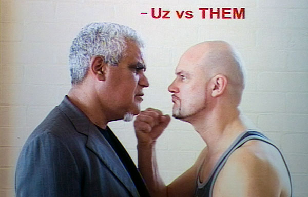 Richard Bell : Uz vs Them Cover